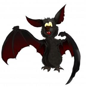 """Wie soll diese Fledermaus heißen, die künftig die Gäste im """"neuen Tor zur Burg Altena"""" begrüßt?"""