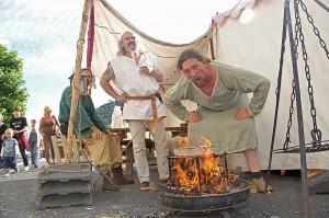 Kochen wie hier auf dem Altenaer Mittelaltermarkt