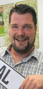 Christian Klimpel ist neu im CDU-Team und tritt am Drescheider Berg/unteren Breitenhagen an.