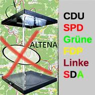 Am 25. Mai haben Altenaer die Wahl. Grafik: Christof Hüls