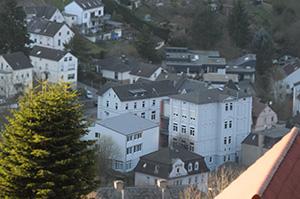 Die Schule am Drescheider Berg: Die Politik will ihre Schüler lieber an Regelschulen integrieren.