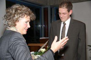 2010 noch wird Jens Linderhaus als neuer Chefarzt der Inneren auch offiziell vorgestellt.