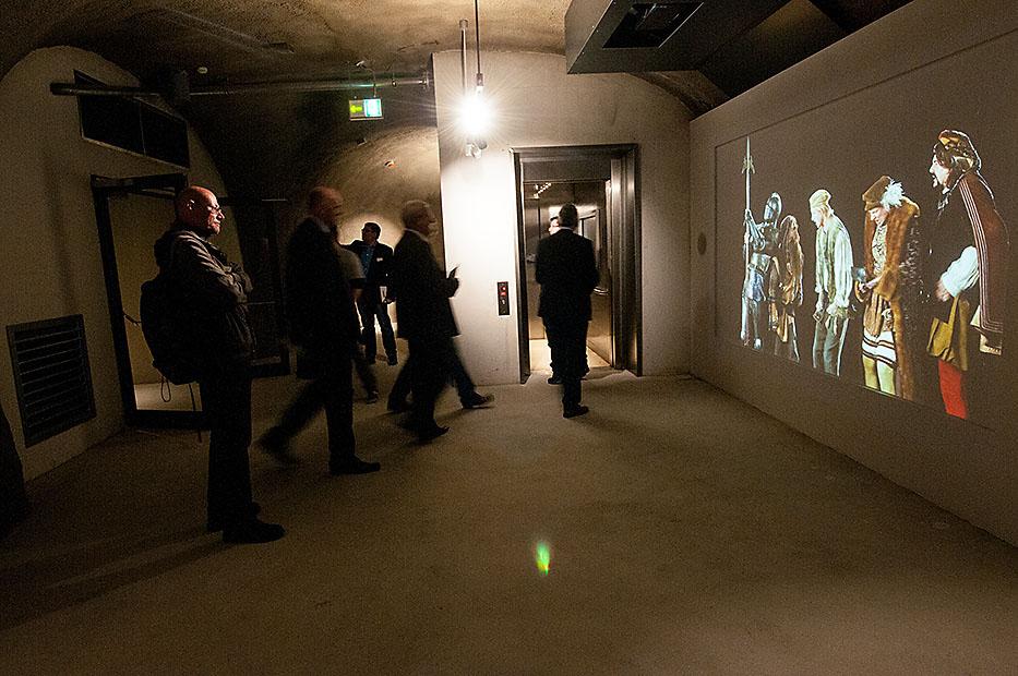 Der Erlebnisaufzug zur Burg Altena ist eröffnet. Fotos: cris