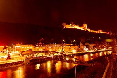 Burg Altena über der Lenne